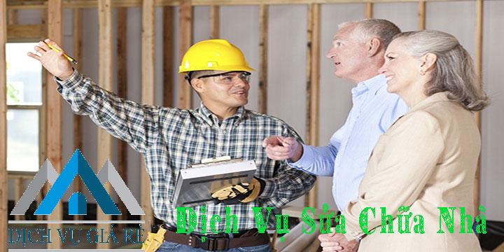 Dịch vụ sửa chữa nhà giá rẻ quận 7