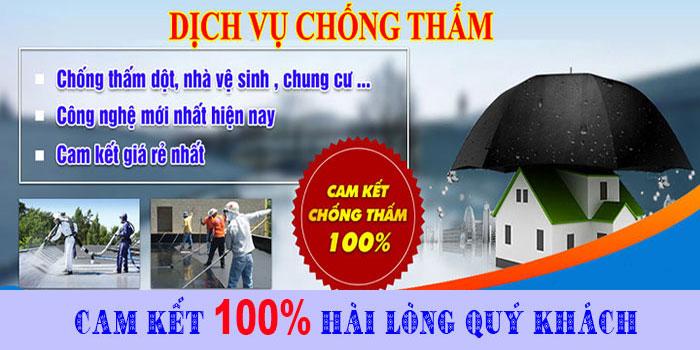 Thợ chống thấm nhà ở tại TPHCM chuyên nghiệp