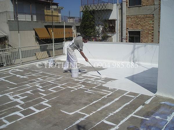 Chống thấm sân thượng tphcm - Chống thấm tường nhà - Thợ chống dột mái tôn