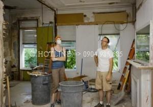 Dịch vụ sửa nhà giá rẻ quận tân phú - Dịch vụ sơn lại nhà đẹp - Chuyên nghiệp