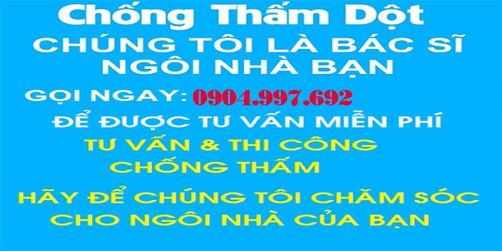 Dịch vụ chống thấm dột TPHCM, Bình Dương, Đồng Nai