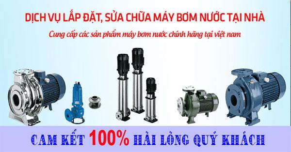 Dịch vụ lắp đặt máy bơm nước tại nhà