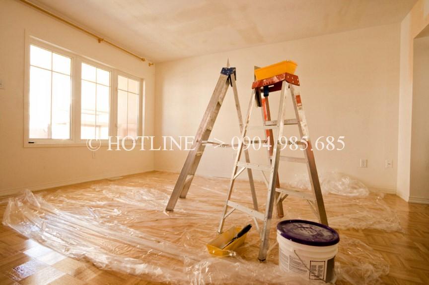 Dịch vụ thợ sơn nhà tại quận 4