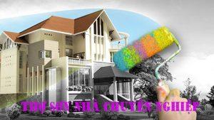 Dịch vụ thợ sơn nhà tại quận 6