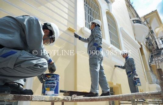 Thợ sơn nhà tại tphcm - Dịch vụ sửa chữa nhà uy tín - Làm việc 24/24 liên hệ 0904 985 685