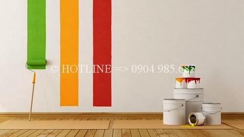 Dịch vụ thợ sơn nhà tại quận 12