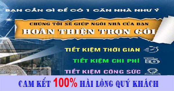 Sửa chữa nhà trọn gói tại tphcm giá rẻ