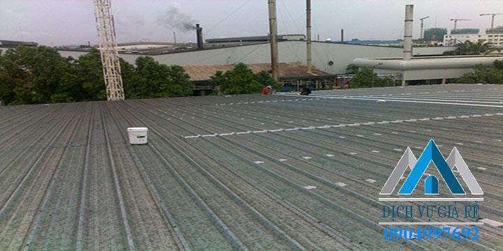 Chống dột mái tôn tại TPHCM, Bình Dương, Đồng Nai