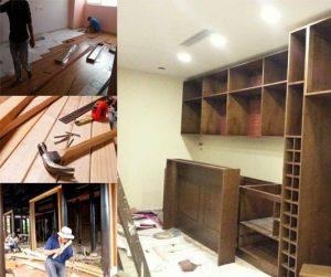 sửa chữa tủ gỗ chuyên nghiệp