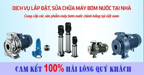 Sửa máy bơm nước nhanh tại nhà