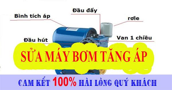 Sửa máy bơm tăng áp tại nhà