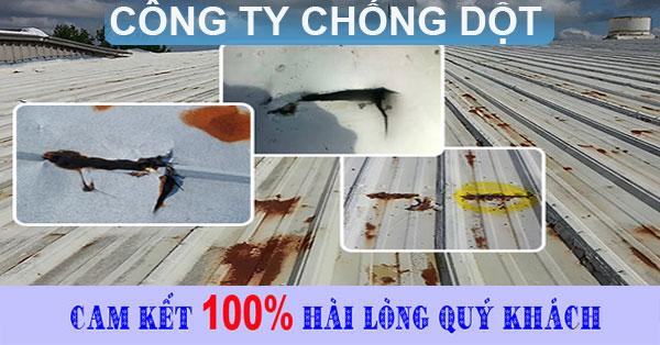 Công ty chống dột mái tôn