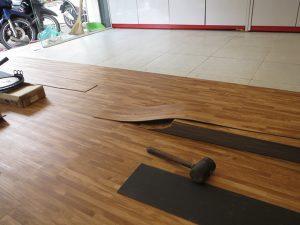 Báo giá thi công làm sàn nhựa giả gỗ