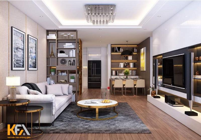 Bí quyết vàng trong thiết kế nội thất chung cư 3 phòng ngủ gọn và đẹp