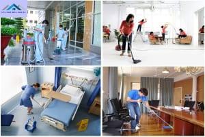 dịch vụ vệ sinh nhà, Văn phòng, Nhà Xưởng