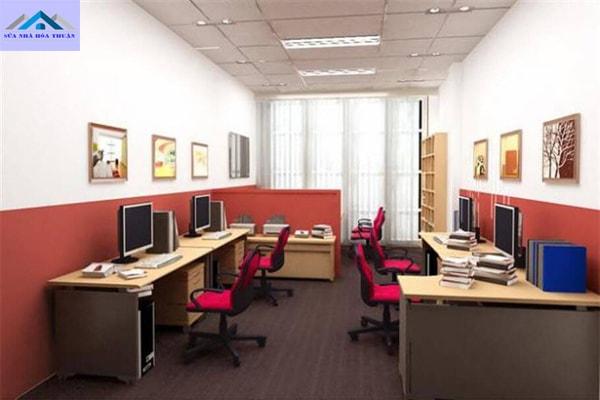 Sơn sửa văn phòng uy tín, giá rẻ, chất lượng cao
