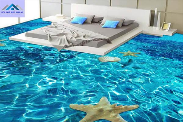 Sàn nhà resin 3D ấn tượng